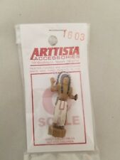 Arttista O Scale Figure #1603 - Wooden Indian for Cigar Store - O On3 On30 Scale