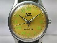 Vintage Hmt Jawan Mens Mechanical Hand Winding Movement Wrist Watch OG201 A