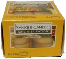 Yankee Candle Home Inspiration Tealights Tea Lights12 pack Exotic Fruits