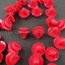 20 Pcs Scuff Plate Retainer Red Nylon Clip A19647 For Toyota Sienna 90467-11111