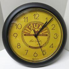 "Elvis Presley Sun Record Company 10"" Wall Clock Clock Brand New!"