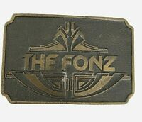 THe Fonz Belt Buckle Happy Days Henry Winkler Vintage 1970's 1980's Biker
