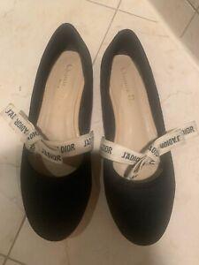 Christian Dior Miss J'Adior Ballerina Flats, Size 39