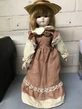 Porcelain Doll & Stand