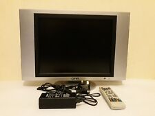 "ONN OLCD1504 15"" 12-VOLTS LCD TV WITH REMOTE CONTROL"