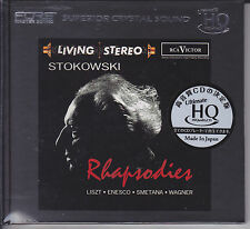 Rhapsodies Stokowski Liszt Wagner Japan UHQCD Audiophile CD Limited Numbered