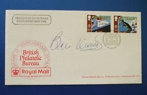 1988 TRANSPORT FIRST DAY COVER SIGNED BY BILL MORRIS, TRANSPORT WORKERS UNION