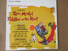 Fiddler on the Roof - Original Broadway Cast - Zero Mostel LSO-1093 STEREO
