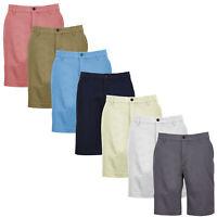 Greg Norman Men's Foreward Series Brisbane Chino Golf Shorts - Pick Size & Color