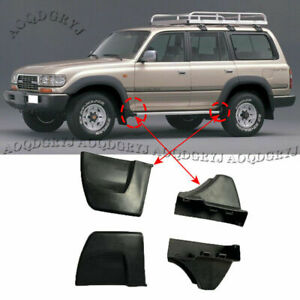 For Toyota Land Cruiser LC80 91-97 Nerf Bars Running Boards Ends Protection Cap