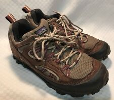 Patagonia Sable Brown Drifter Hiking Trail Shoe Boot Women Size 8 Vibram Sole