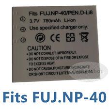 Battery for D-LI8 D-LI95 DLI-102 PENTAX Optio E65 E75 E85 L20 M85 T10 T20 X