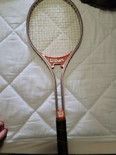 """New listing VINTAGE Wilson Jimmy Connors Rally Tennis Racket 4 1/2"""" Grip Great Condition"""