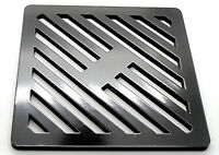 Square Gully Grid Grate Heavy Duty Drain Cover metal steel like cast iron black