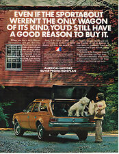 Vintage 1972 Magazine Ad American Motors Hornet Sportabout A Good Reason To Buy