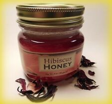Hibiscus Infused Pure Honey, Rich Red Color with a rich sweet taste