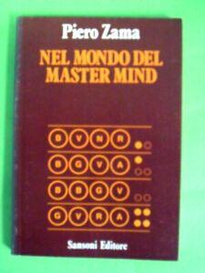 ZAMA. NEL MONDO DEL MASTER MIND. SANSONI 1984