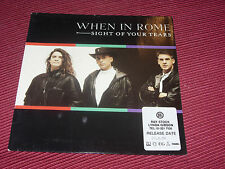 "When in Rome:  Sight of your tears   1989  EX+  UK  7""  PROMO STICKER ON FRONT"
