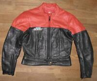 """"""" SPEED MODE """" Damen- Motorrad - Kombi- Lederjacke / Biker- Jacke in ca. Gr. 40"""