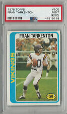 Fran Tarkenton 1978 Topps PSA 9 (OC) Mint Graded Card Vikings HOF #100