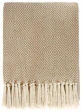 Édredons et couvre-lits beige pour chambre à coucher en 100% coton