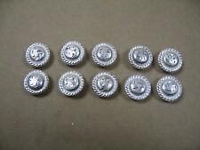 Silberbeschläge für Lederwaren *neu* Conchos mit breitem Rand 2 Stück 100-1 CS