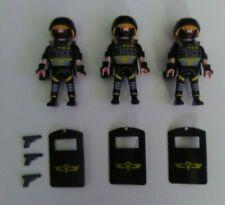 New ListingPlaymobil Police Swat Figures w/ Riot Shields and Pistols
