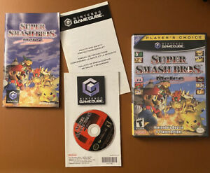 MINT Super Smash Bros Melee (Nintendo GameCube, 2001) TESTED