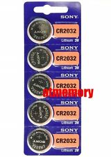 Sony CR2032 CR 2032 3V Button Coin Cell Battery x 5pcs Brand new Genuine EXP2027