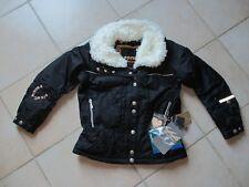 veste blouson ski poivre blanc noire taille 8 ans