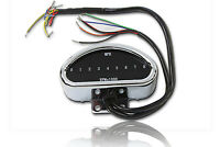 Digital Mini Speedometer and Tachometer fits Harley-Davidson