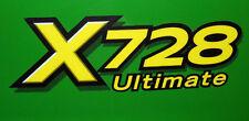 John Deere X728 ultimate hood decal set fits X728 tractors M154196