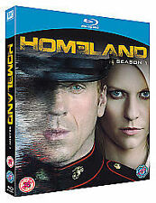 HOMELAND The Complete First Season Blu-Ray Claire Danes Damian Lewis