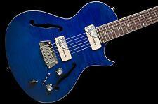 Epiphone Blueshawk Deluxe P90s Midnight Sapphire Blue no case