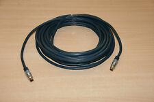 10 meter Vergoldet Clicktronic S-Video Kabel Mini-DIN-Stecker S-VHS 4-polig