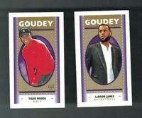 2019 Upper Deck Goodwin Champions GOUDEY MINI Near Complete Set (39/50) LEBRON+