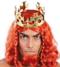 ORO con gioielli Regal Corona Re Medievale Prince Costume di Scena Natale