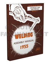 1955 Pontiac Fisher Body Welding Assembly Manual Catalina Star Chief Chieftain