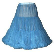 Partners Please Malco Modes Crinoline Petticoat Size L Teal