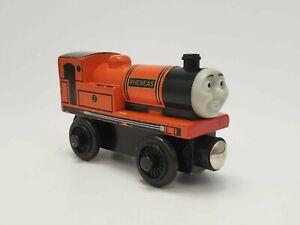 Thomas & Friends Wooden Railway Orange Rheneas Engine Tomy UK
