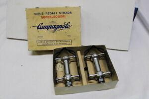 Vintage 80s Campagnolo Serie Pedali STRADA Road Superleggeri Pedals