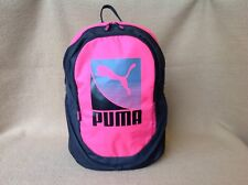 Pink with black  Puma Bag Backbag