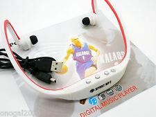 Reproductor MP3 con Radio FM MicroSD 4Gb Bateria Recargable Cable USB 2433f4