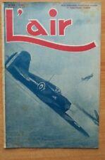L'AIR revue hebdomadaire provisoirement bimensuelle n° 556 : août 1945