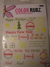 Rub-Ons-Scrapworks-Christmas Cheer-NEW-Scrapbooking