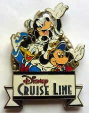 Disney 3D Pin Dcl - Mickey, Donald Und Goofy