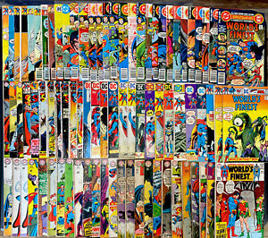 Worlds Finest 🔥 131 Book Lot! See Desc For Iss #'s DC Comics Superman Batman!