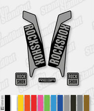 RockShox REBA 2015 2016 Style Decals Stickers - 2 Colour Designer Pack - Custom