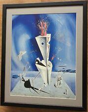 Dali print, Apparatus and Hand, 20''x16'', Salvador Dali print, Abstract print