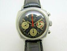 Vintage Heuer Camaro 3 Chronograph Manual Wind Valjoux 7736 Steel Men Watch